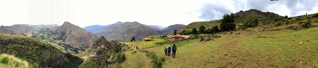 Panorama of Pisaq.