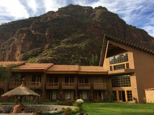 Lodge stay on the Lares Adventure.
