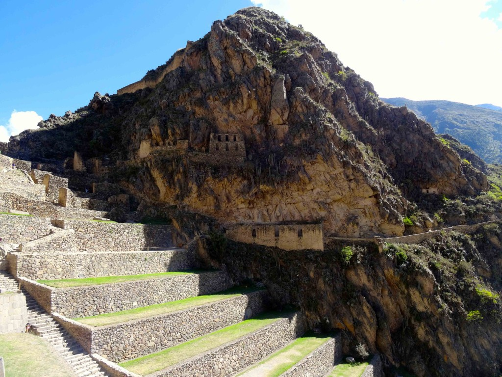 OLLANTAYTAMBO on the Lares Trail.