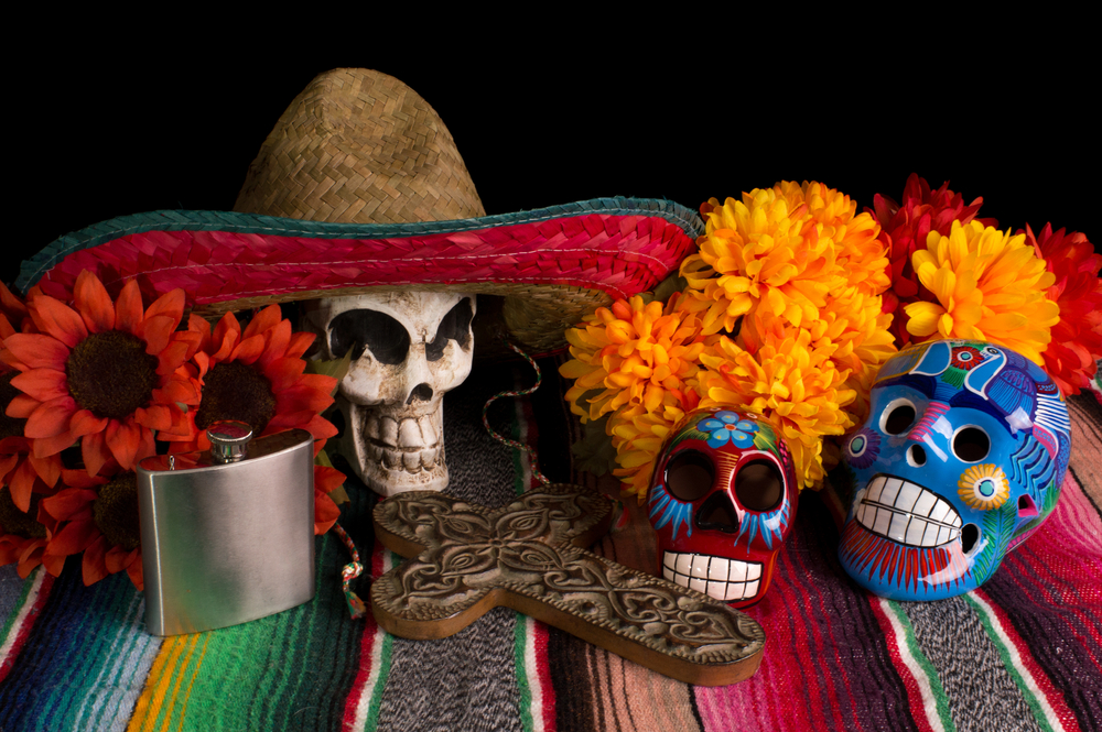 Day of the dead. shutterstock_111363302