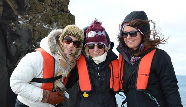 Passengers in Antarctica
