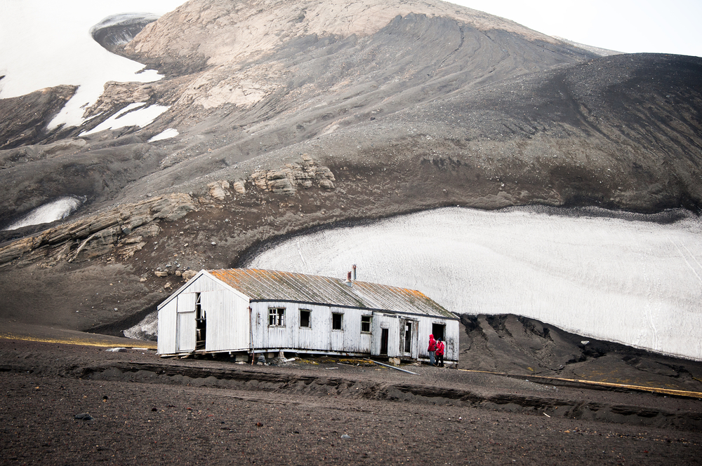Old Whaling Station on Deception Island