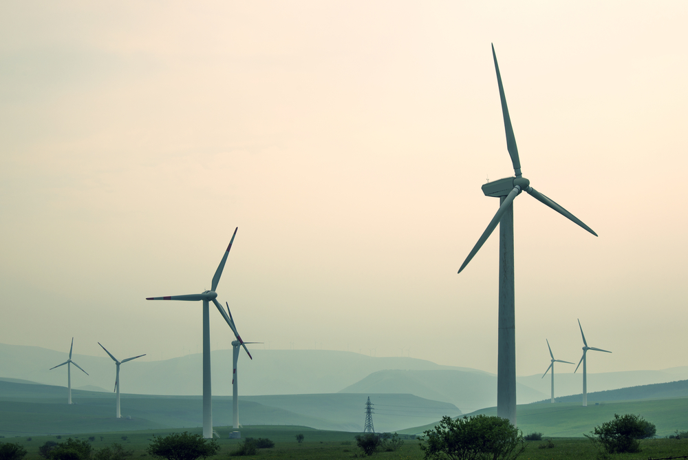 windmill farm_ combating climate change