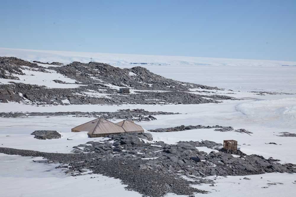 Mawson's huts.