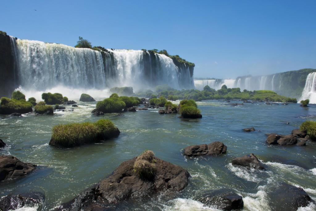 Iguassu falls, part of South America's Big Five.