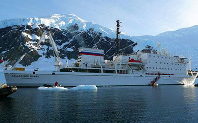 Antarctica Cruise aboard the Akademik Ioffe