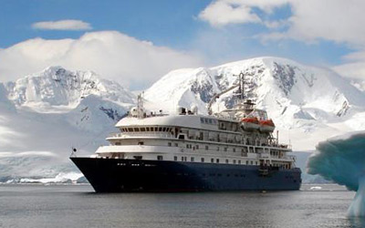 Cruise to Antarctica aboard the Hebridean Sky