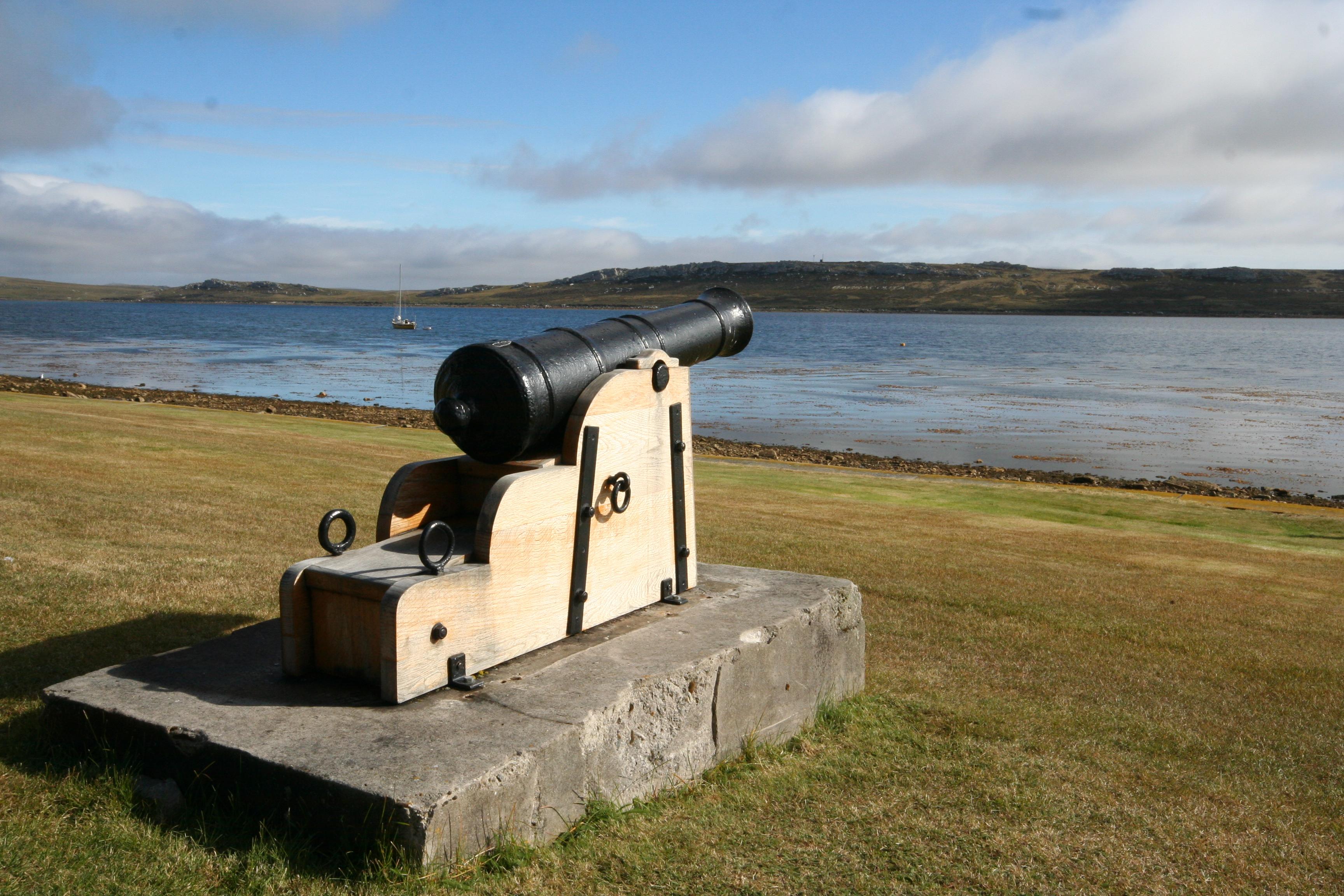 cannon_Falkland Islands