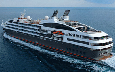 Travel in Luxury and enjoy fine dining on the Le Boreal to Antarctica