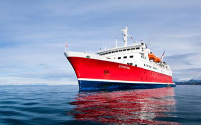The MS Expedition is one of the best Antarctica cruises