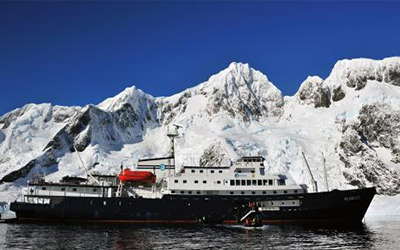 Cruise to Antarctica aboard the MV Plancius
