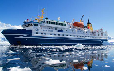 Cruise to Antarctica aboard the comfortable Ocean Nova