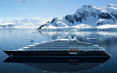 Cruise to Antarctica aboard the Scenic Eclipse