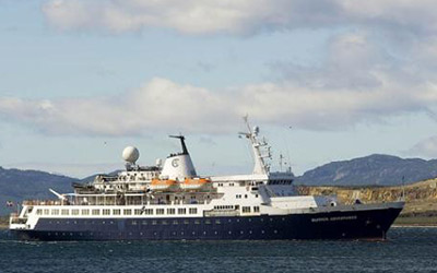 Cruise to Antarctica aboard the Sea Adventurer