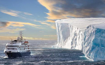 A contender for the Best Antarctica Cruise is no doubt the Luxury Sea Spirit