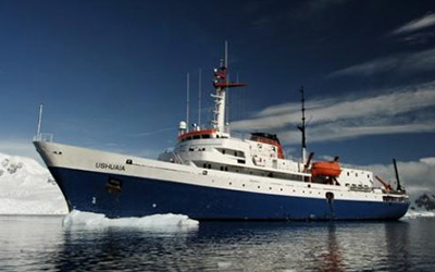 One of the Best Cruises to Antarctica is the MV Ushuaia