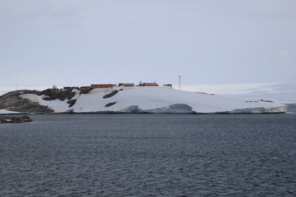 View of French Antarctic Base Building