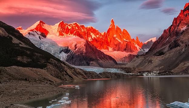 Patagonia Hiking - Cerro Torre peak, Los Glaciares National Park