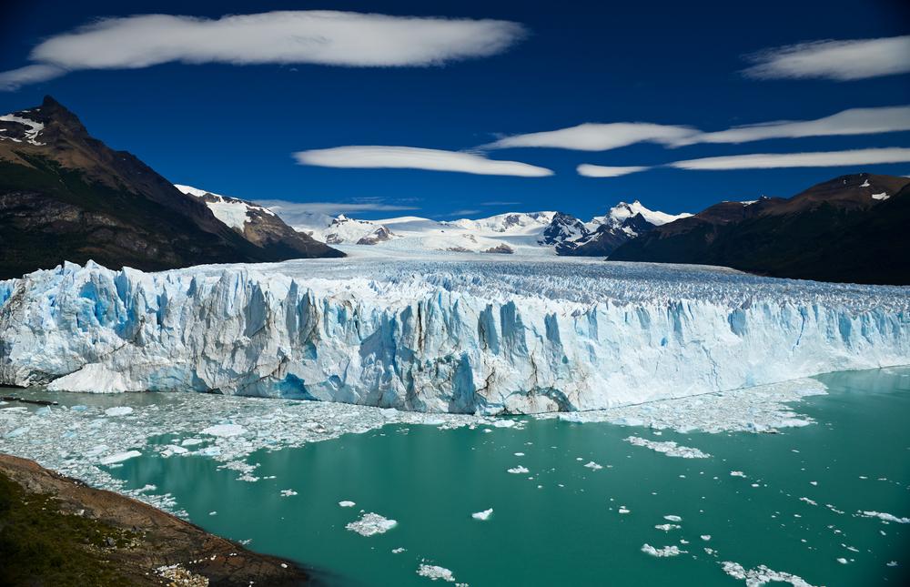 View of Perito Moreno Glacier from above