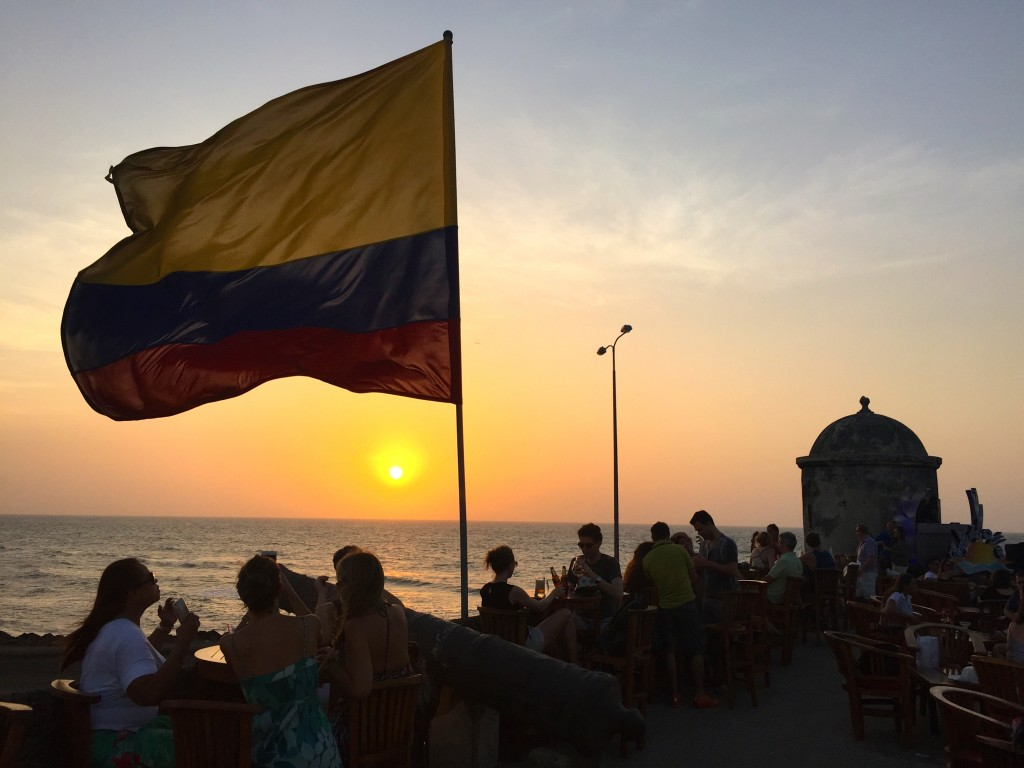 Amazing Sundowner in Cartagena, Colombia