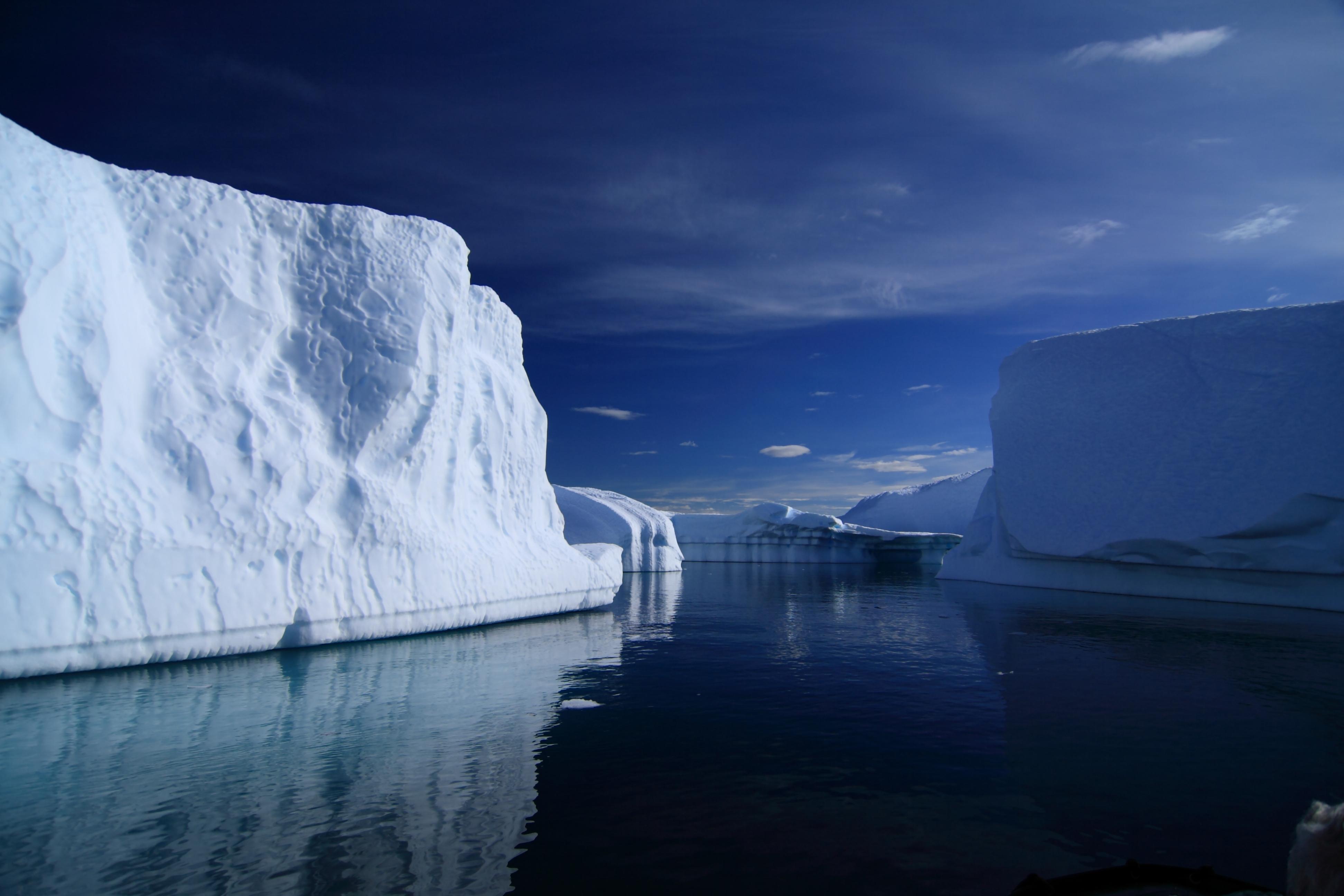 Calm waters of Antarctica.