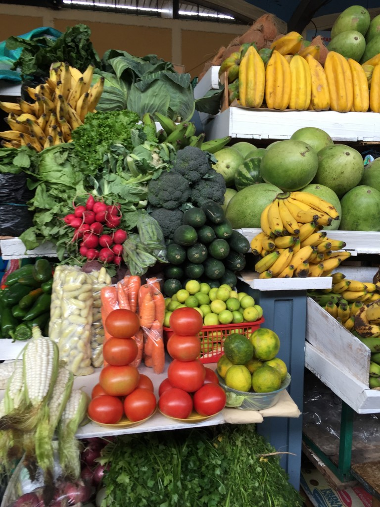 Fruits and vegetable stand