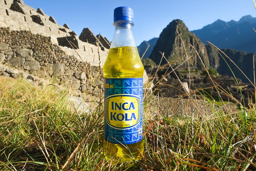 Inca Kola In Peru