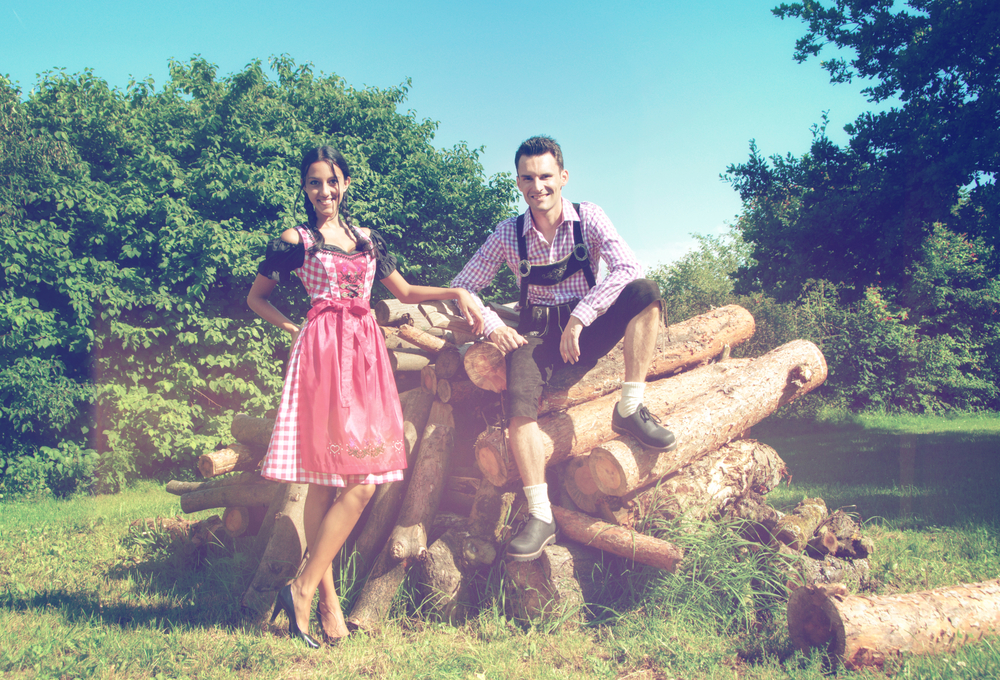 Traditional Bavarian Clothes.