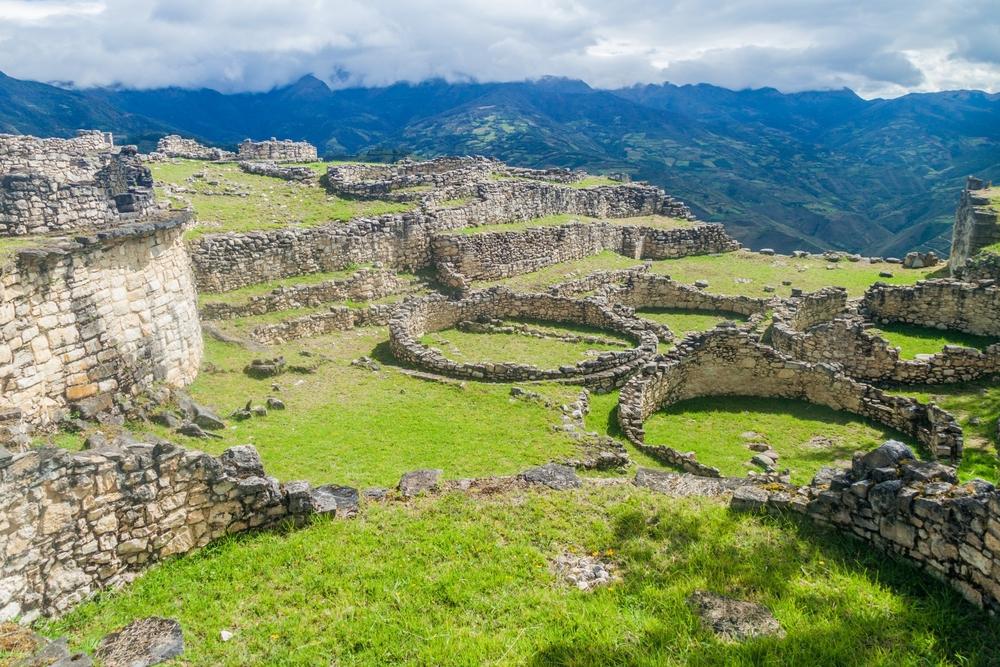 ancient ruin Chachapoyas