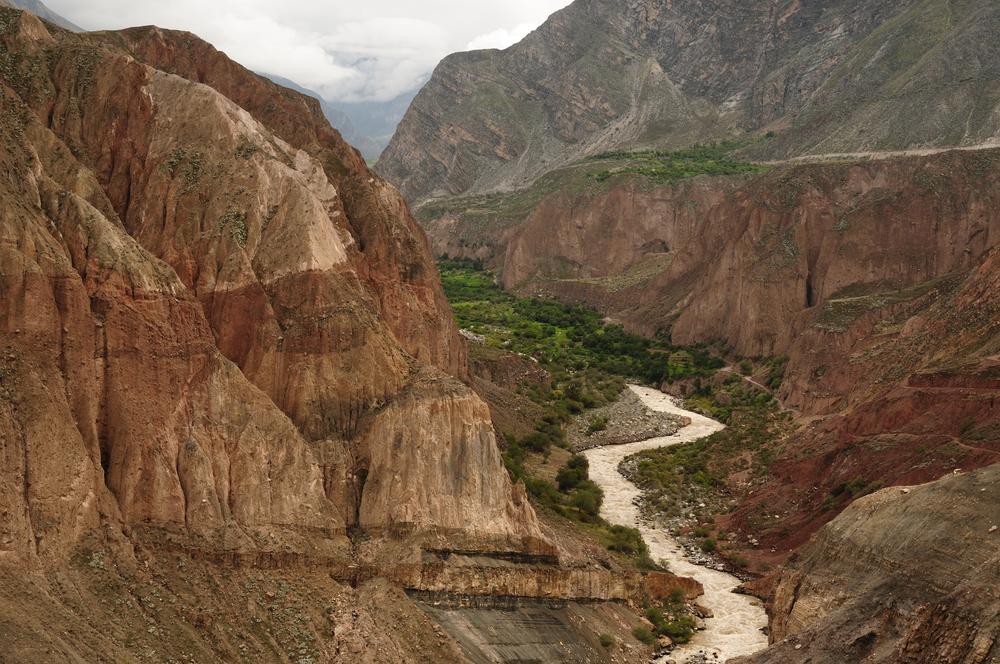 The Cotahuasi Canyon in Peru