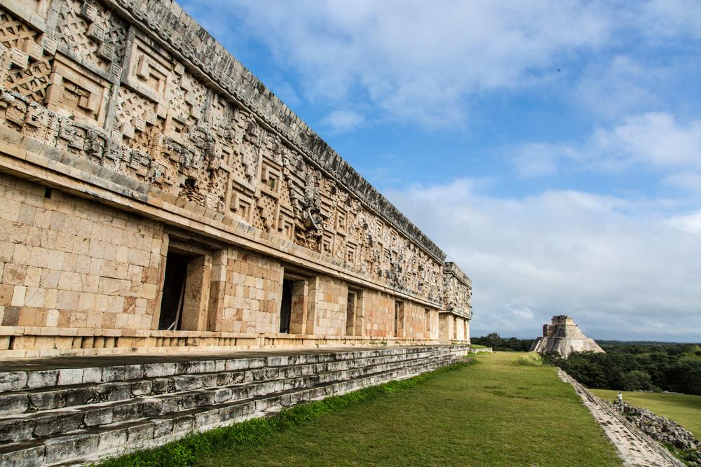 ancient mayan ruin mexico
