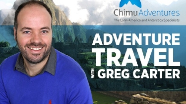 Greg Carter from Chimu Adventures Radio interview