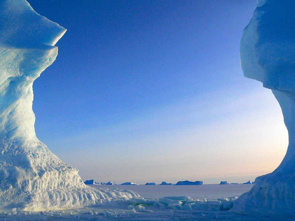 Ice formations Antarctica