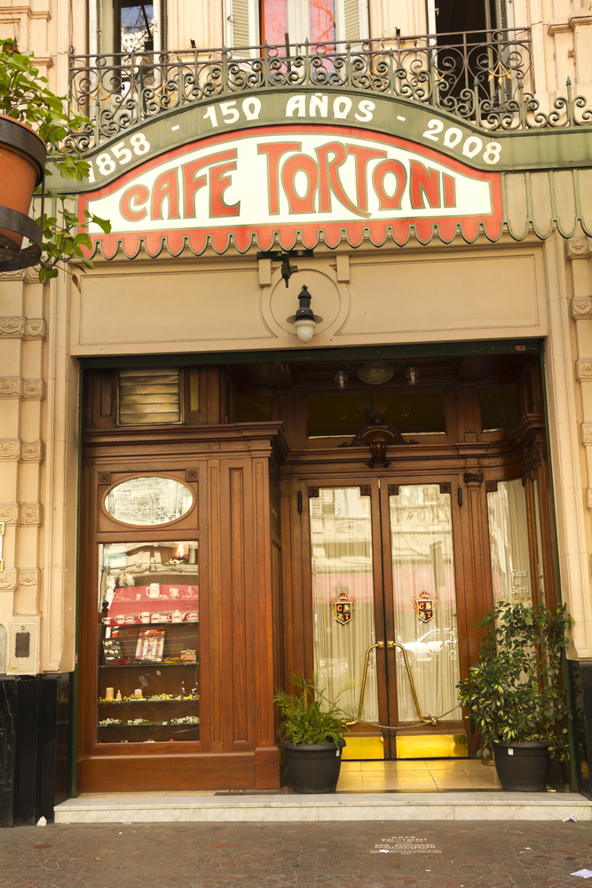 cafe tortoni old cafe with wooden doors