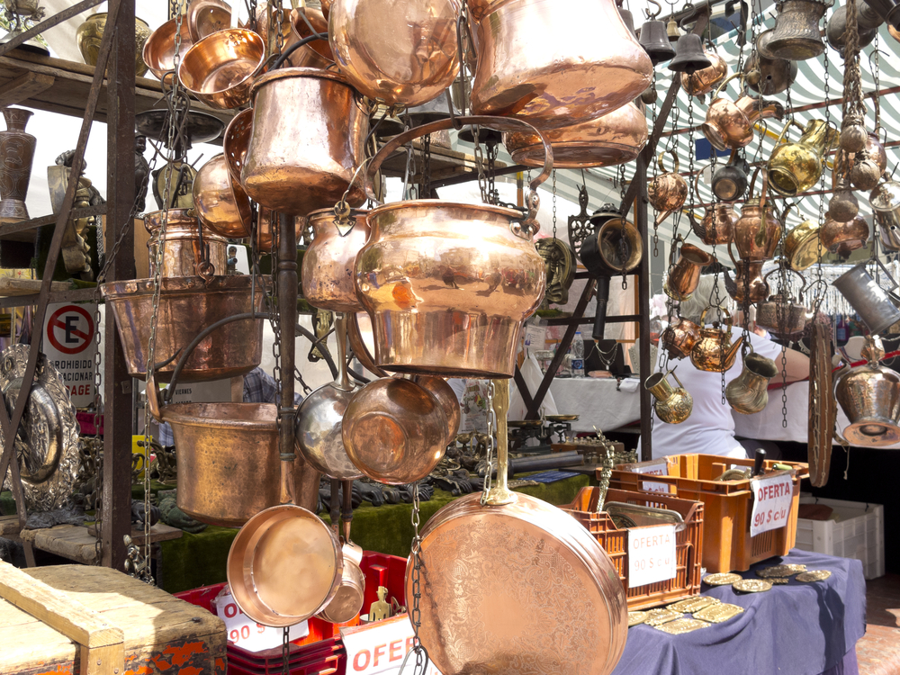 Top things to do in Buenos Aires; stroll for antique objects on a market in San Telmo