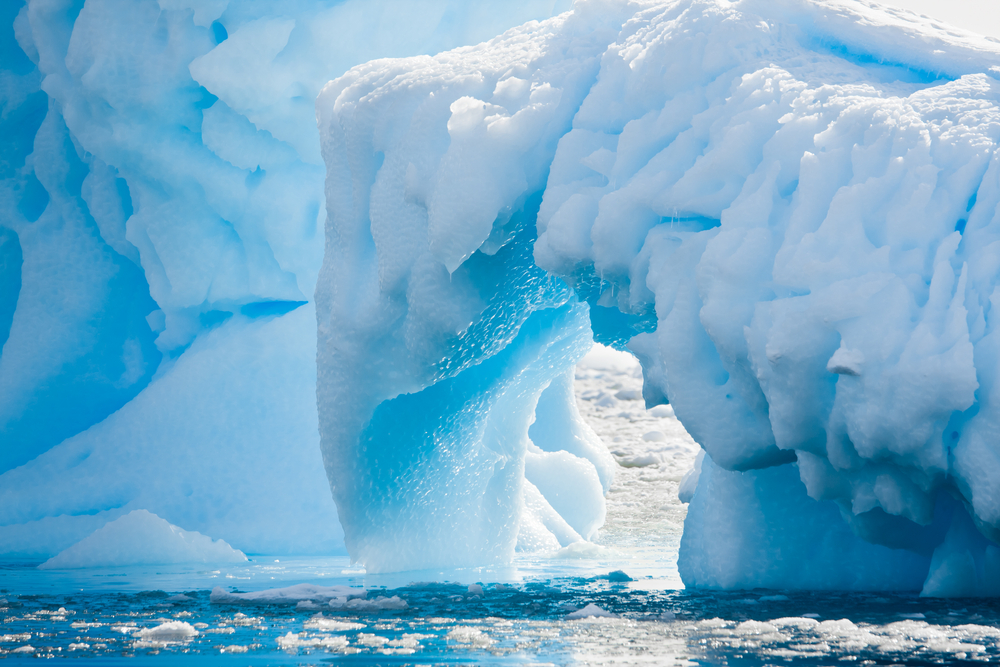 Beautiful Blue and white icebergs. Photo credit: Shutterstock