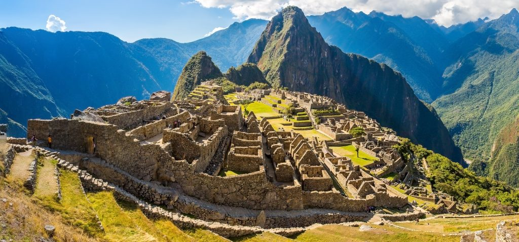 ancient ruin of machu picchu in peru