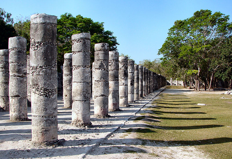 ancient mayan ruins in mexico