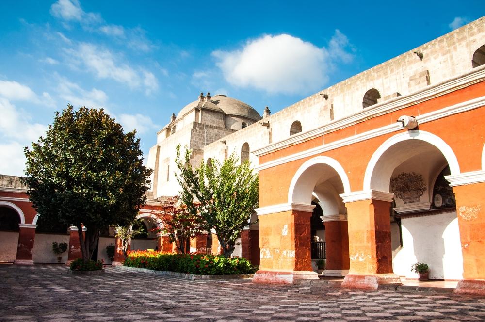 Monasterio de Santa Catalina spanish colonial monastry in arequipa