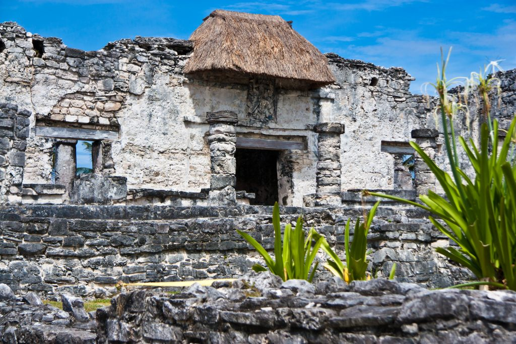 Ancient Mayan ruins, Tulum.