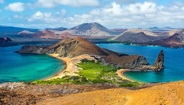 Bartolome Island in the Galapagos Islands, Ecuador