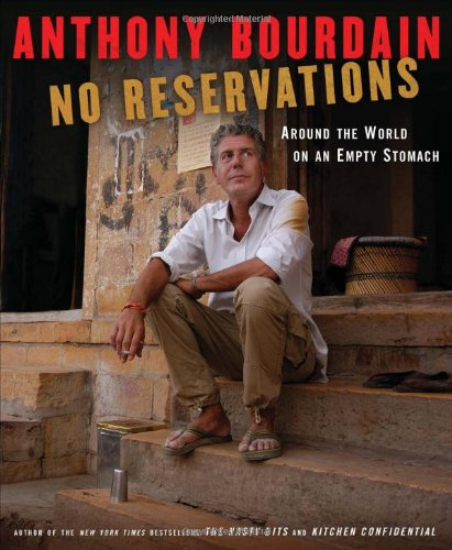No reservations: around the world on an Empty Stomach , a travel book to inspire wanderlust. Photo credit: amazon.com