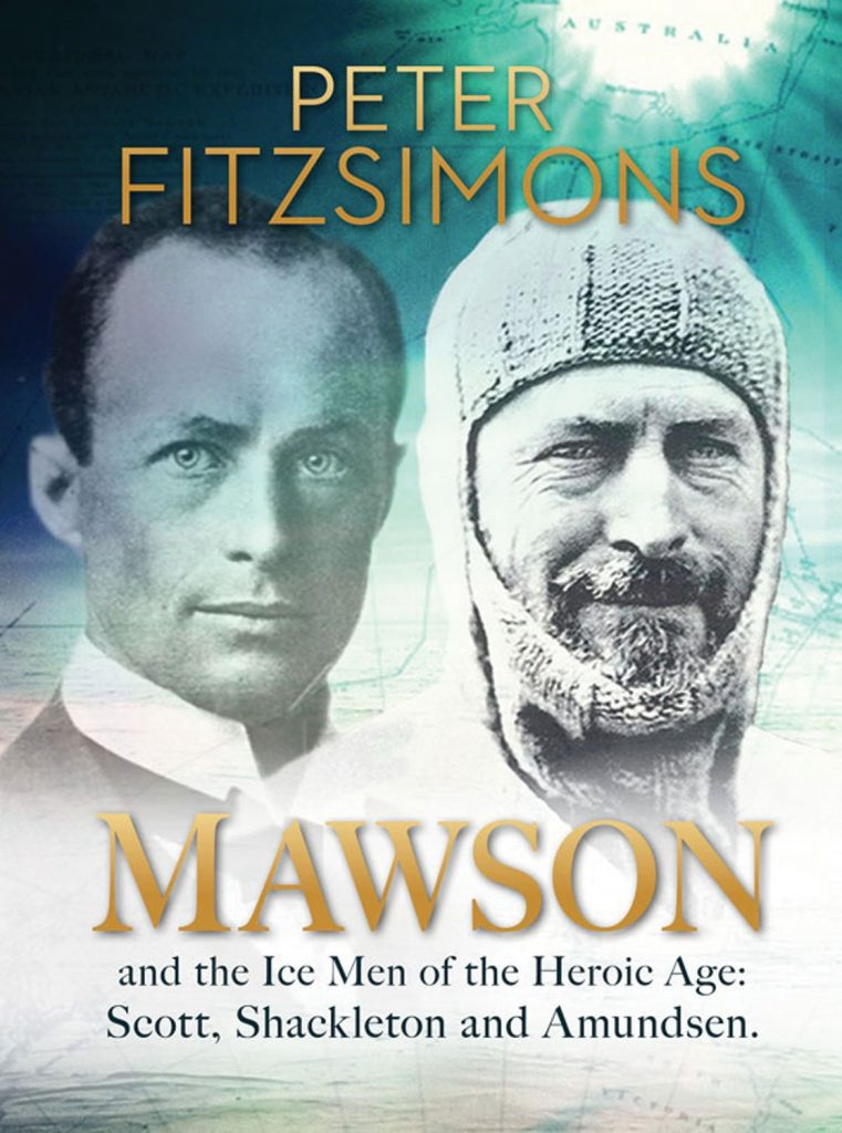 Wanderlust inspirations: Mawsoon: And the Ice Men of the Heroic Age: Scott, Schakleton and Amundsen - Peter FitzSimmons. Photo credit: amazon.com