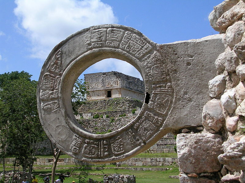 Ullamaliztli, the famous Aztec ball game