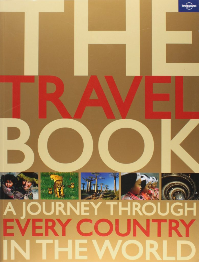 A book full of wanderlust inspirations: The travel book. Photo credit: amazon.com