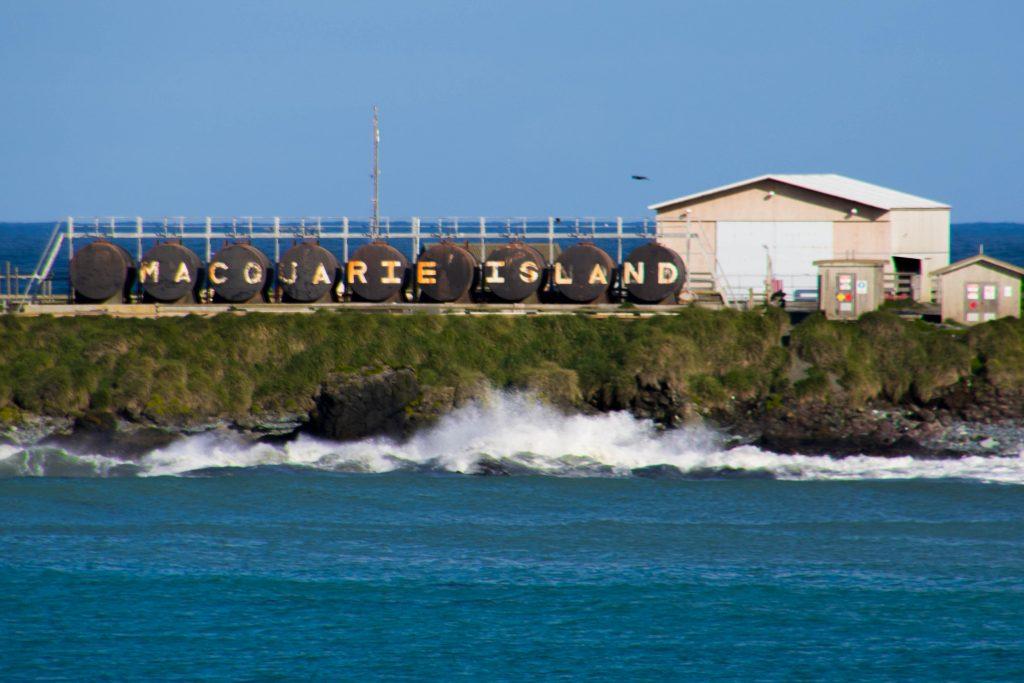 Macquarie Island base.