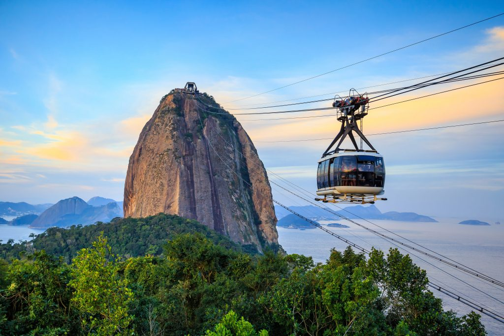 Sugarloaf in Rio de Janeiro.