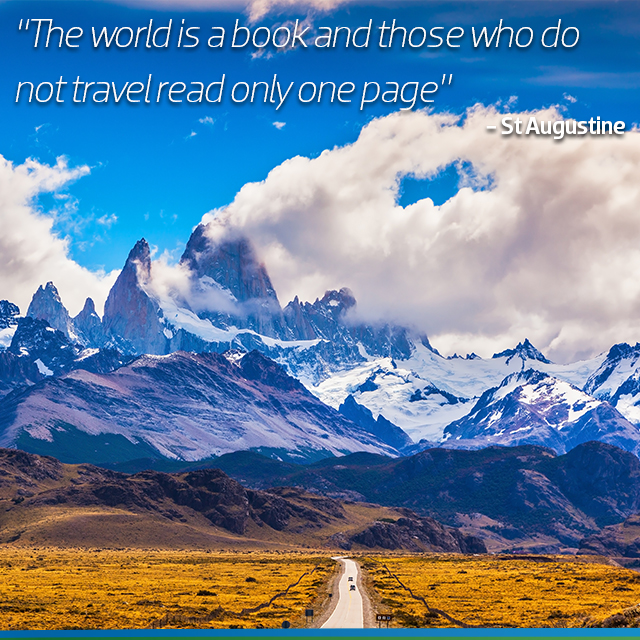 Travel Quote: The world is a book and those who do not travel only read one page.