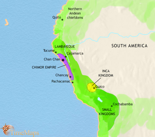 The Kingdom of Chimor in Peru, the second largest empire in ancient Andes history.