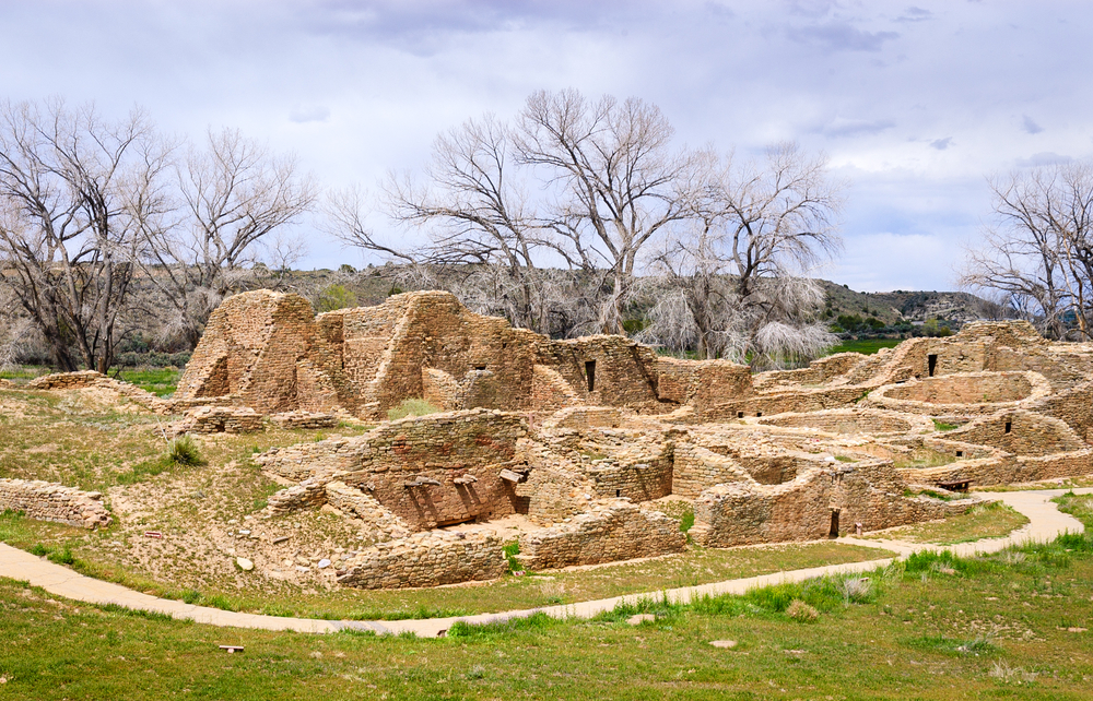 Aztec ruins national park.